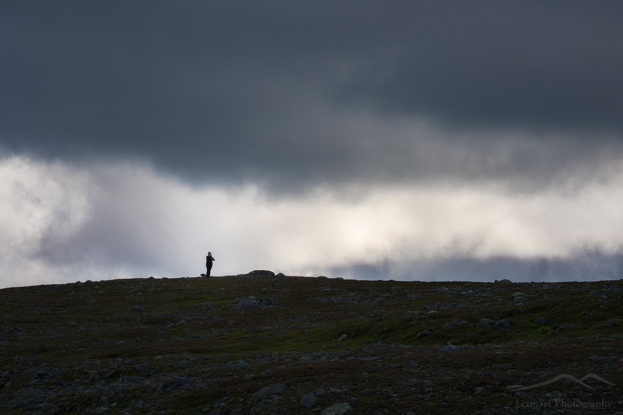 Dark clouds   Frostviksfjällen, Jämtland