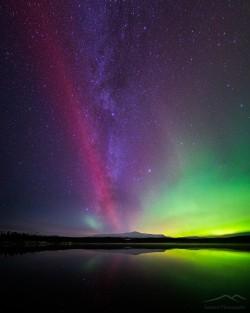 Night wonders   Nulltjärn, Jämtland