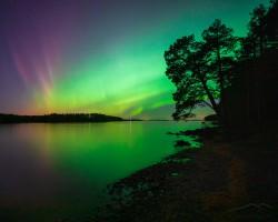 Aurora on Visit   Andersön, Jämtland